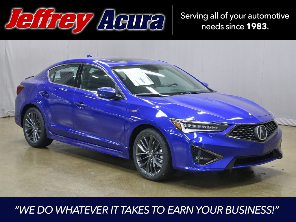 New 2020 Acura ILX 2.4L Auto with A-Spec and Premium Package
