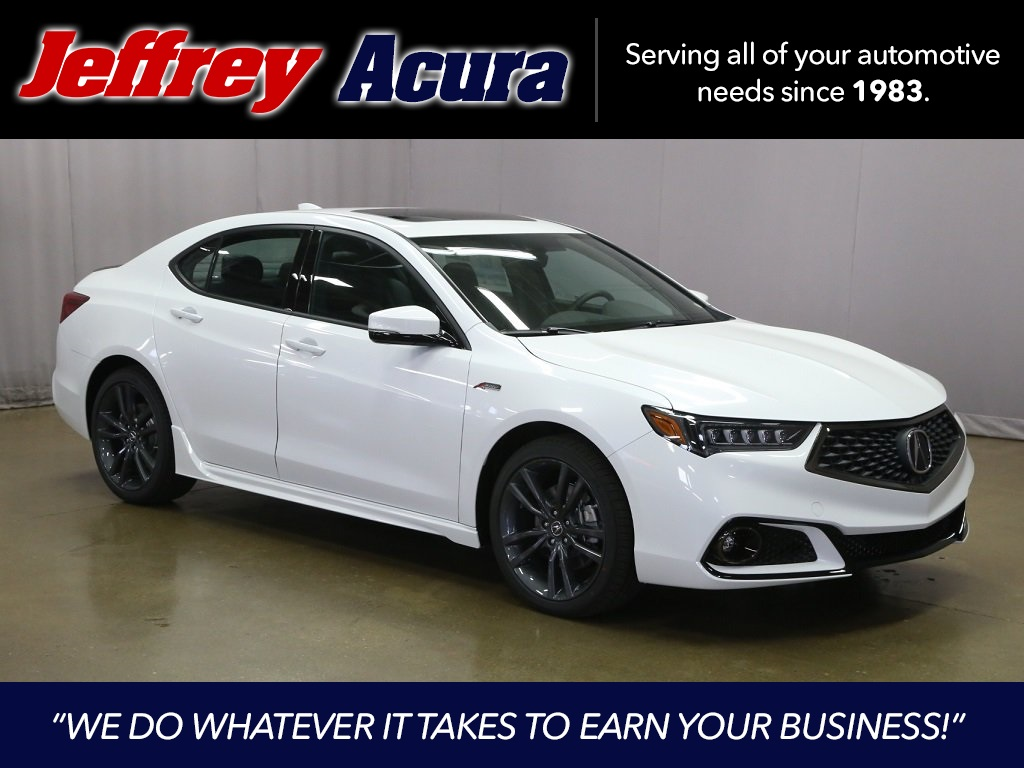 New 2019 Acura Tlx 3 5 V 6 9 At Sh Awd With A Spec 4d Sedan In