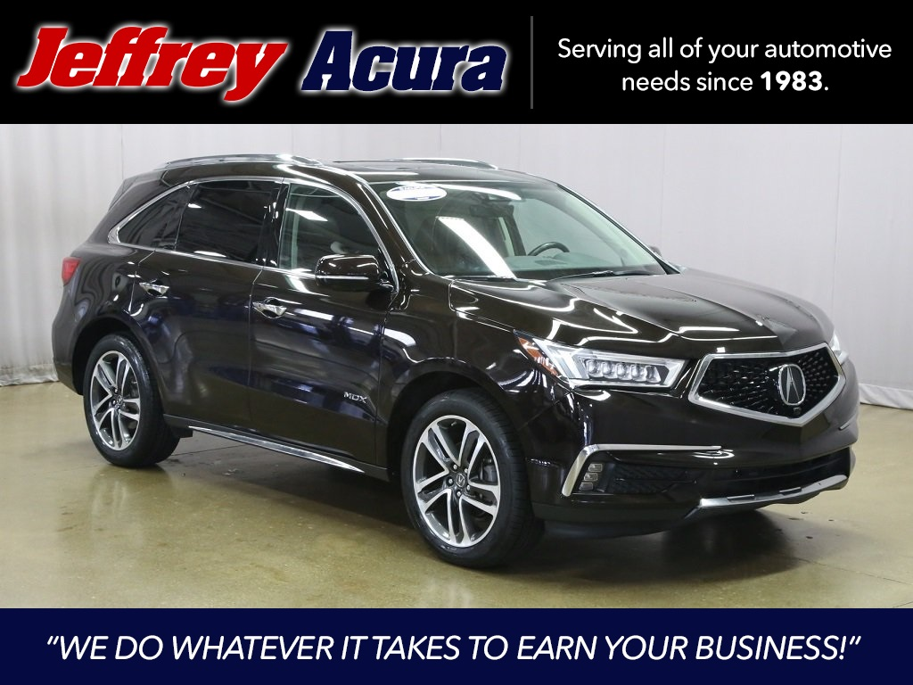 Certified Pre Owned 2017 Acura Mdx Sh Awd With Advance And Entertainment Packages 4d Sport Utility In Roseville J021775a Jeffrey