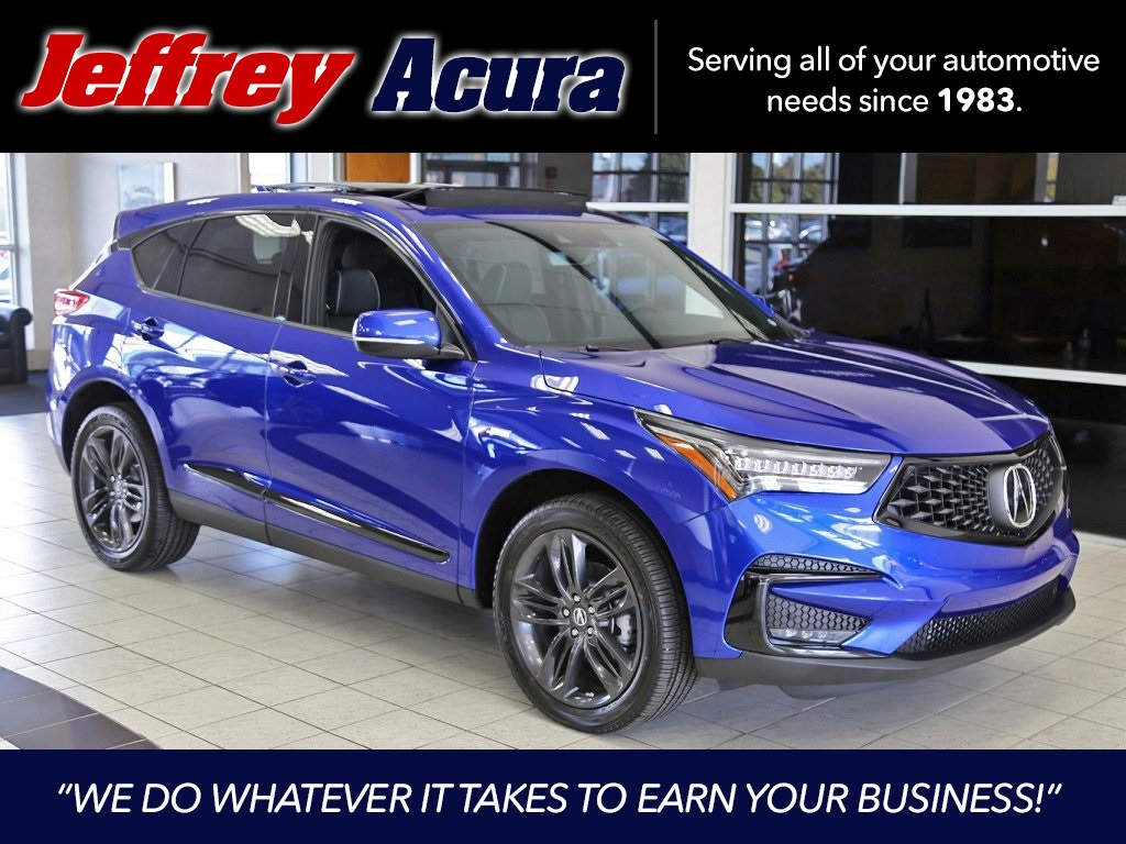 New 2020 Acura Rdx Sh Awd With A Spec Package
